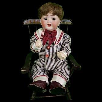 Antqiue Kammer Reinhardt Simon Halbig 126 Bisque Head Baby Boy Doll Sleep Eyes Bent Limb Body