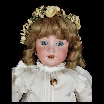 Antique Heinrich Handwerck German Doll 109 Large 30 inch Matching Head and Body NICE