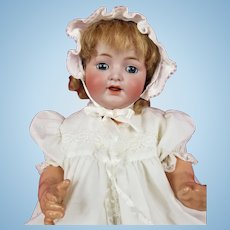"Antique German Kammer Reinhardt Simon Halbig Life Size 126 Baby Doll 22"" CUTE!"