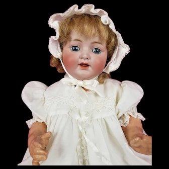 "Antique German Kammer Reinhardt Simon Halbig Life Size 126 Baby Doll 22"" CUTE!"