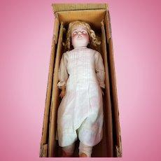 Antique German Doll Simon Halbig 540 BeBe Cosmopolite Box & Shipper All Original!!