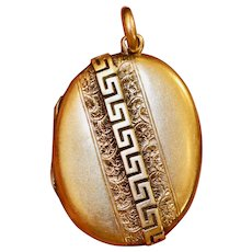 Antique Victorian 15 Carat Gold Locket Circa 1890