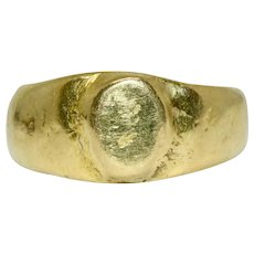 15 Carat Ancient Revival Ring 15 Carat Gold Pre 1932