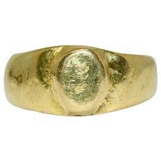 15 Carat Ancient Revival Ring 15 Carat Gold Pre 1932