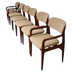 Benny Linden Sculptural Dining Chairs