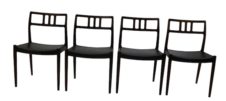 niels moller chair 79 rosewood danish modern rosewood niels moller 79 dining chairs mary kays