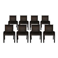 "Eight Guido Faleschini Italian ""Dilos"" Dining Chairs By i4 Mariani For Pace"