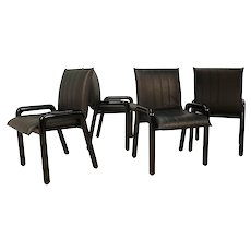 """Four Guido Faleschini Italian """"Dilos"""" Dining Chairs By i4 Mariani For Pace"""