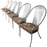 Mid Century Arthur Umanoff Steel Chairs for Shaver Howard