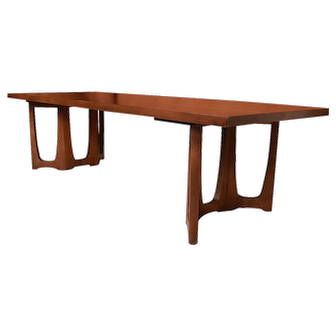 Mid Century Broyhill Brasilia Sculpted Coffee Table