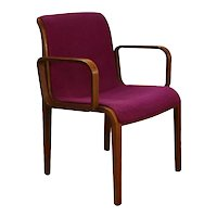 Mid Century Bill Stephens Knoll Bentwood Chair