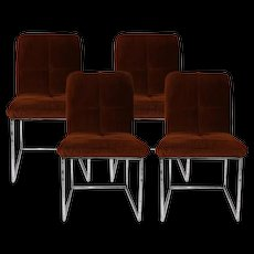 Mid Century Chrome Dining Chairs Cal Style Furniture