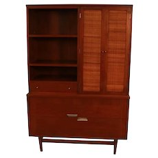Mid-Century Modern American of Martinsville Cabinet Hutch