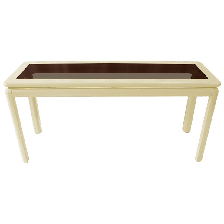 Mid century modern lacquered console table lane furniture mary mid century modern lacquered console table lane furniture watchthetrailerfo