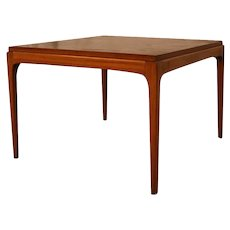 Mid Century Modern Lane Walnut End Table