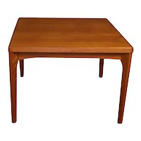 Mid Century Vejle Stole Mobelfabrik Danish Side Table
