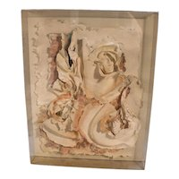 Marcia Mazur-Gold and Ross Mazur Mid Century Handmade Paper Sculpture