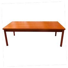 Vejle Stole & Mobelfabrik Danish Modern Rectangular Coffee Table