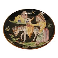 Ceramica Art Amalfi Italian Pottery Plate Italy Italian