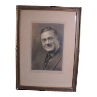 Pirie MacDonald Photograph Men of New York Portrait Photo Signed