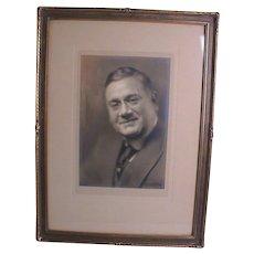 Pirie MacDonald Photograph Men of New York Portrait Photo Signed