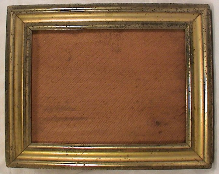 Antique Small Lemon Gold Gilt Frame C1860 Ago Ruby Lane