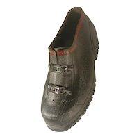 Pair Men's Vintage SERVCO Rubber Galoshes Size 13