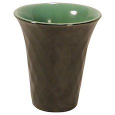 Rookwood 1930 Art Deco Style Vase 6174 High Gloss Black Glaze