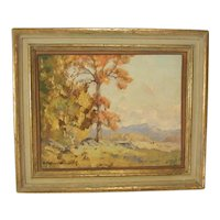 Frederick Ballard Williams N.A.  Landscape Oil Painting