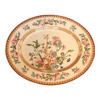 "India Tree 14"" Oval Platter S. Hancock & Sons England  Transferware"