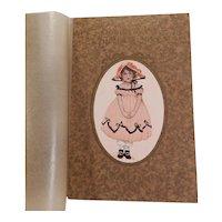 Kiddidears of the Long Ago Becky Tabor Original Gift Box 1925