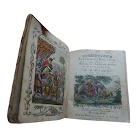 "1828 German Book ""EUPHROSYNE"" Original Hand Colored Illustrations"