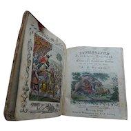 "1828 German Book ""EUPHROSYNE"" Original Hand Colored Illustrations"