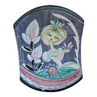 Tilgman's Sweden Scandinavian Hand Painted Art Pottery Ceramic Plaque