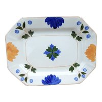 Small Adams China Pattern ADA153 Hand Painted Platter