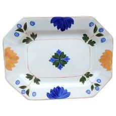 Small Adams China Pattern ADA153 Hand Painted Platter