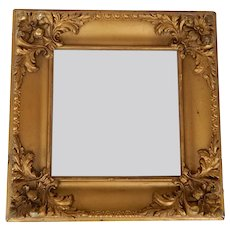 Small Fancy Gold Victorian Frame C.1900