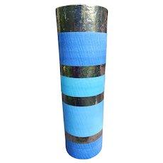 """Jonathan Adler Pottery Vase 16 1/4"""" Hand Signed"""