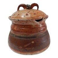 Paula Burke Stoneware Tureen Studio Pottery Signed