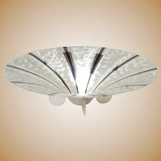 WMF Ikora Large Art Deco Germany Silver Plate Bowl
