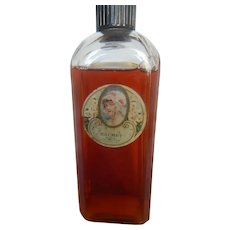 "Vintage ""Sachet"" Salux Perfumer St. Louis Perfume Bottle C.1920"
