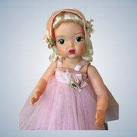 """16"""" Vintage Terry Lee in formal pink gown"""