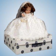 """5 1/2"""" NASB Bride, pudgy w/box, Num. 86"""