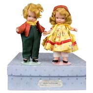 "NASB 5 1/4"" Hansel and Grethel pair"