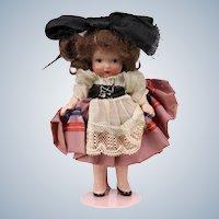 4 7/8 Nancy Ann Storybook French rare Japan mold