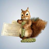"18"" R John Wright rare Squirrel Nutkin Artist Proof"