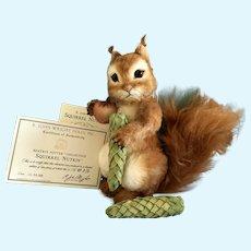 "9"" R John Wright rare Squirrel Nutkin Artist Proof"