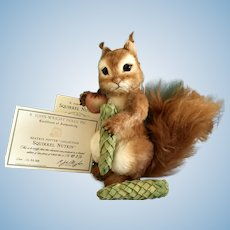 "9"" R John Wright rare Squirrel Nutkin Artist Proof"