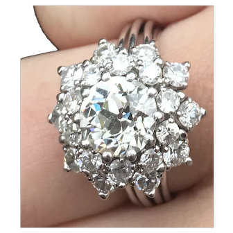 1960's Diamonds Ring