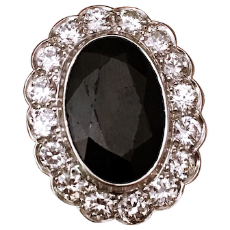 a Rare Sapphire Ring from 1910